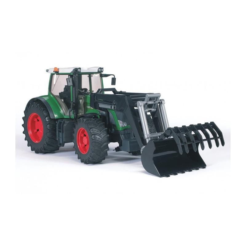 Tracteur fendt 936 avec fourche bruder bru03041 tracteur avec chargeur bruder minitoys - Tracteur avec fourche ...