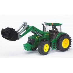 Tracteur-John-Deere-7930-avec-fourche