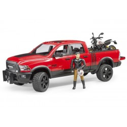 Pick-up RAM 2500 avec moto Ducati - Bruder