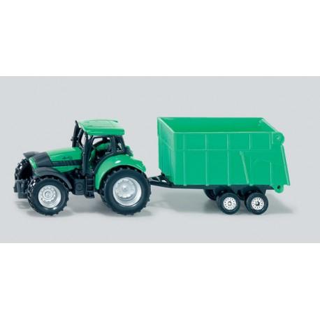 Tracteur-Deutz-avec-remorque