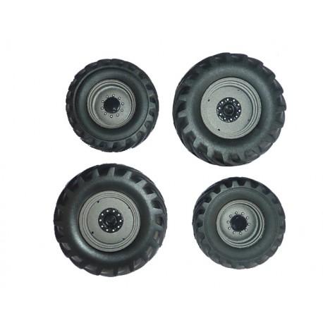 Jeu de roues du Deutz Agrotron TTV 7250