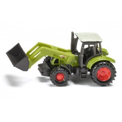 Tracteur Claas Ares 697 avec chargeur - Siku 1335