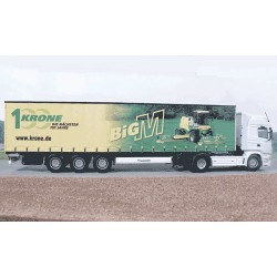 Camion Scania + remorque Krone Big M - UH