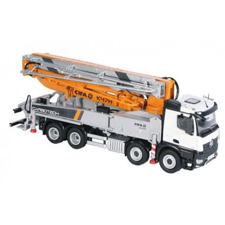Pompe à béton CIFA K47H sur camion MB Arocs - NZG