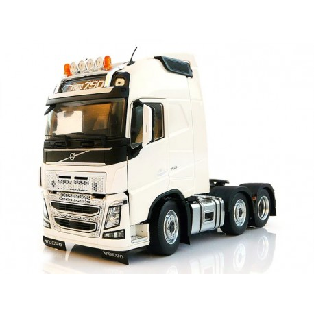 Tracteur Volvo FH16 6x2 blanc- Marge Models
