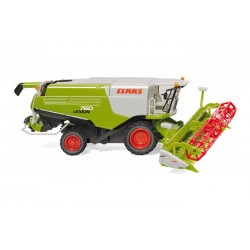 Moissonneuse Claas Lexion 760 avec coupe V 1050 - Wiking