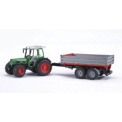 Tracteur Fendt 209S avec remorque