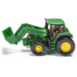 Tracteur John Deere avec chargeur - Siku