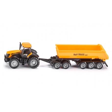 Tracteur-JCB-avec-dolly-et-benne-basculante