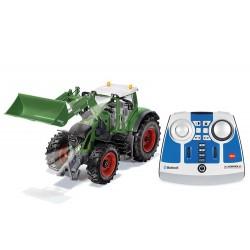 Tracteur Fendt 933 avec chargeur RC + télécommande + Bluetooth - Siku