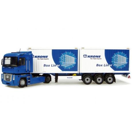 Renault-Magnum-500AE-avec-2-containers-Krone
