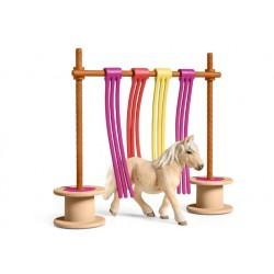 Rideau pour poney - Schleich
