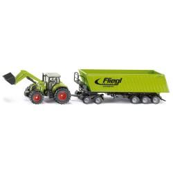 Tracteur-Claas-avec-dolly-et-benne-Fliegl