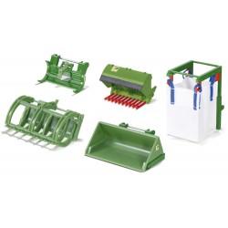 Set d'accessoires pour chargeur frontal - Siku