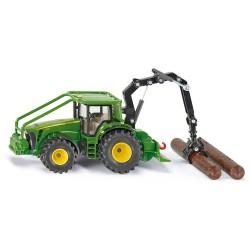 Tracteur forestier John Deere - Siku
