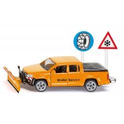 VW Amarok chasse-neige