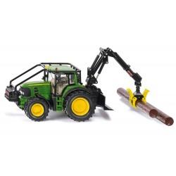 Tracteur forestier John Deere 7530