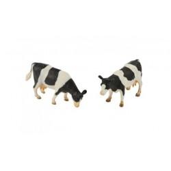 Set de 2 vaches noires et blanches - Kids Globe