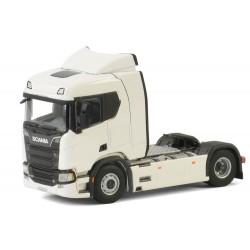Tracteur Scania R normal CR20N 4x2 blanc - WSI