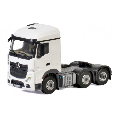 Tracteur MB Actros MP4 Stream Space 6x2 blanc - WSI