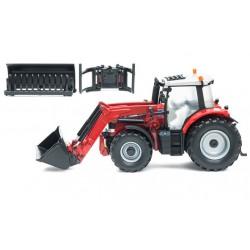 Tracteur Massey Ferguson 6616 avec chargeur