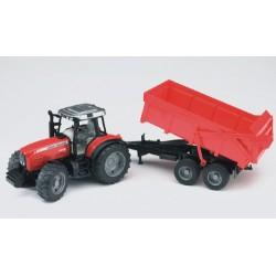 Tracteur-MF-7480-avec-benne