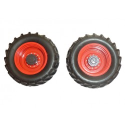 Paire de roues larges de tracteur Claas Xerion