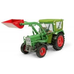 Tracteur Fendt Farmer 5S cabine Peko et chargeur - Universal Hobbies