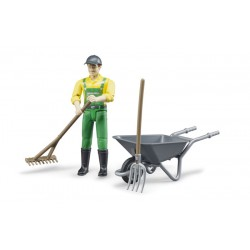 Set figurine fermier Bruder