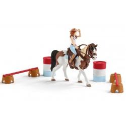 Kit d'équitation western Horse Club Hannah - Schleich