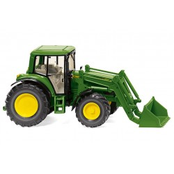 Tracteur JD 6920 S avec chargeur - Wiking