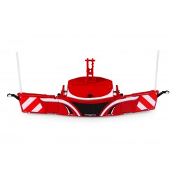 Tractorbumper safetyweight 800 kg rouge - UH