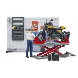 Set atelier moto Bworld - Bruder