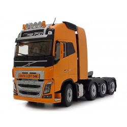 Tracteur Volvo FH16 8x4 jaune - Marge Models