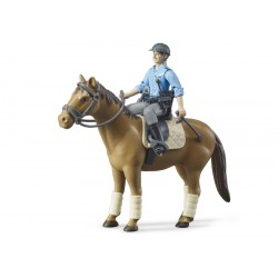 Set policier à cheval - Bruder