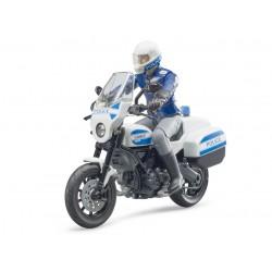 Moto de police Scrambler Ducati - Bruder