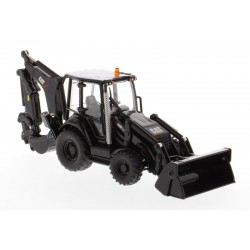 Tractopelle Caterpillar 420F2 noir - Diecast Masters