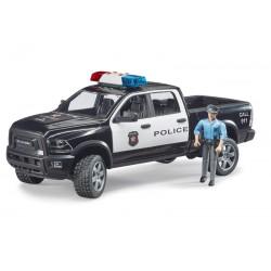 Pickup de police RAM 2500 avec policier - Bruder