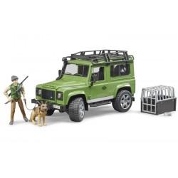 Land Rover Defender avec garde forestier - Bruder