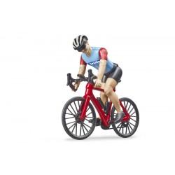 Vélo de route avec cycliste bworld - Bruder