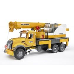 Camion-grue-Mack-Granite-Liebherr