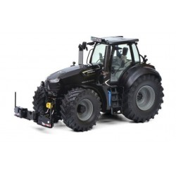 Deutz-Fahr 9340 Warrior noir avec agribumper - Schuco