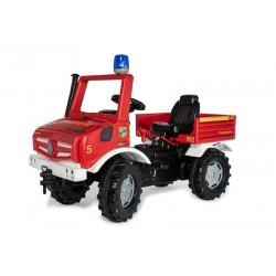 Unimog pompiers à pédales