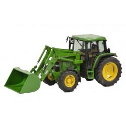 Tracteur John Deere 6300 avec chargeur - Schuco