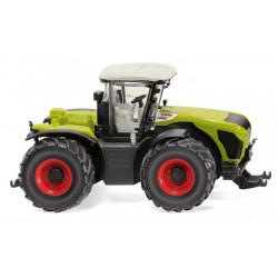 Tracteur Claas Xerion 5000 jumelé - Wiking