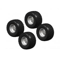 Jeu de 4 roues Michelin CARGOXBIB 1/32 - ATCollections