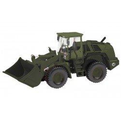 Chargeur Liebherr 550 BW militaire 1/87 - Schuco