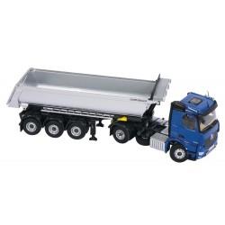 Camion benne MB Arocs bleu - NZG