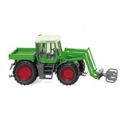 Tracteur Fendt Xylon avec pince à balles - 1/87 - Wiking