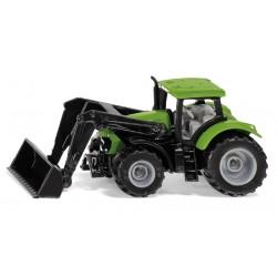 Tracteur Deutz avec chargeur frontal- Siku